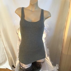 Mossimo Grey ribbed tank top